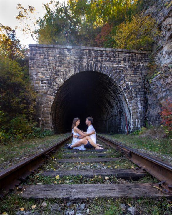 Circum Baikal railway tunnel