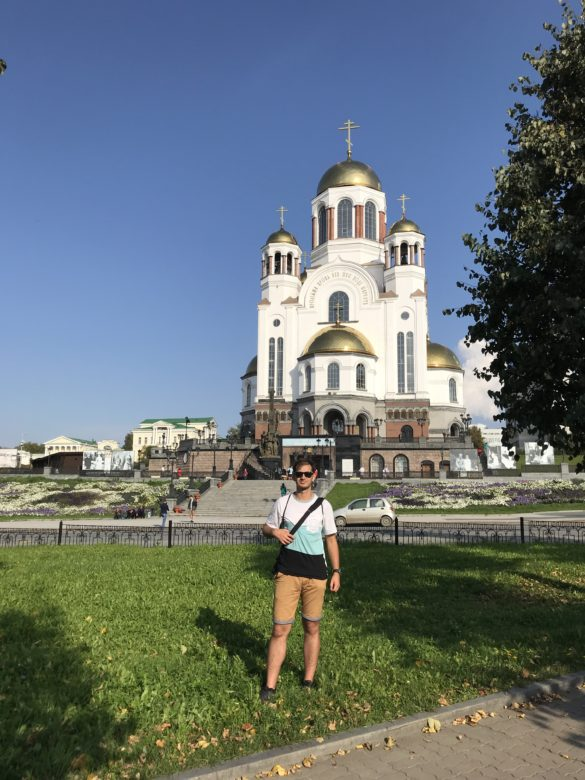 Church upon the blood Yekaterinburg