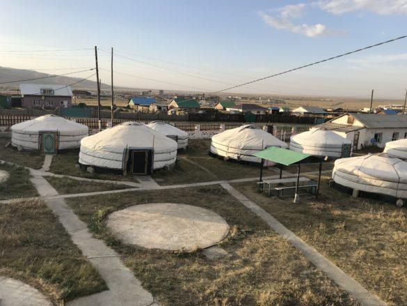 Gaya guesthouse yurt