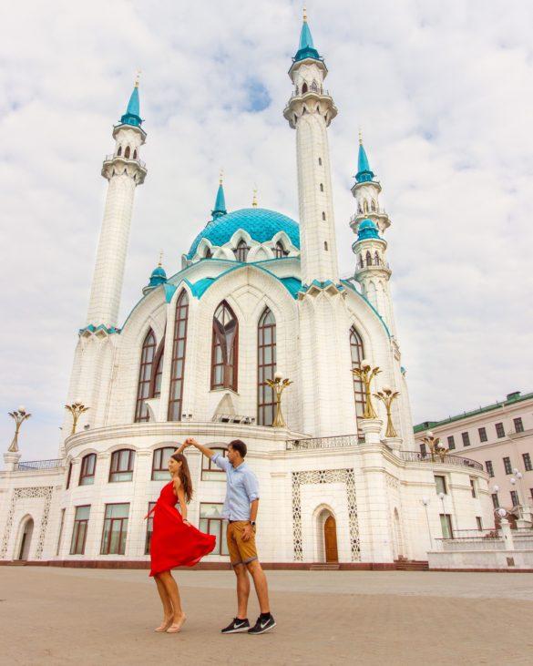 Kul Sharif mosque Kazan Kremlin