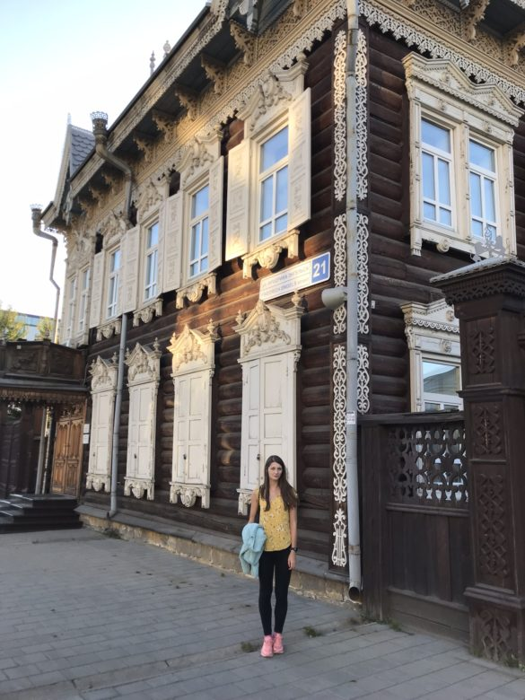 Old merchant houses Irkutsk