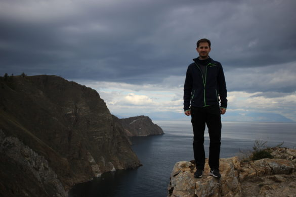 Cape Khoboy Lake Baikal