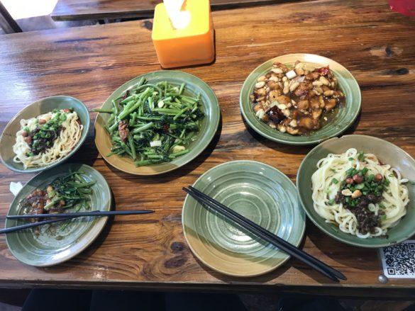 Zhang Mama noodles Beijing