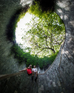 Park fort canning staircase