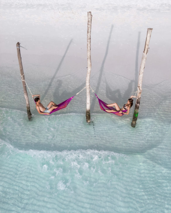 Long beach Koh Rong hammock