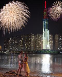 Landmark 81 firework