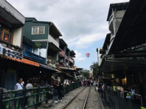Shifen lantern train