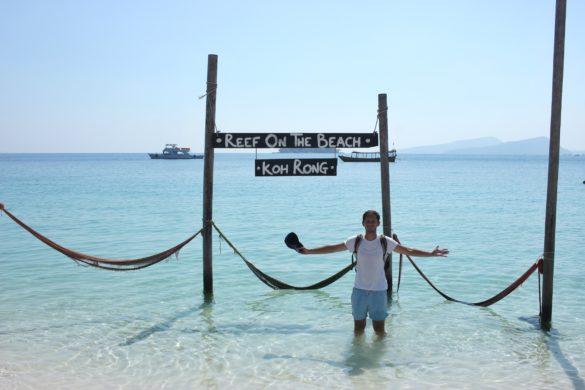 Long set beach Koh Rong