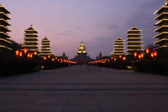 Fo Guang Shan night
