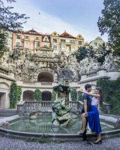Grebovka prague fountain