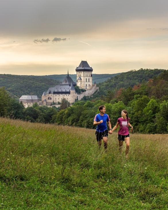 Karlstejn castle view