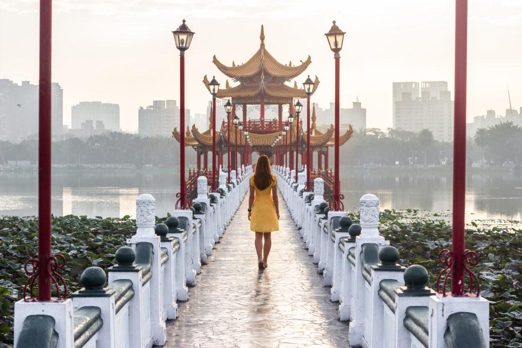 kaohsiung pavilion lotus pond