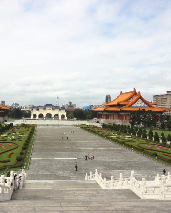 Chiang Kai Shek Memorial complex