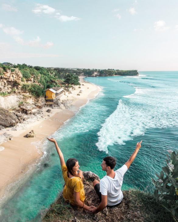 balangan beach viewpoint