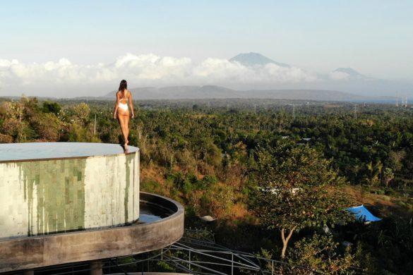 sumberkima hill volcano view